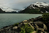 May 31, 2016.  Portage Glacier and lake