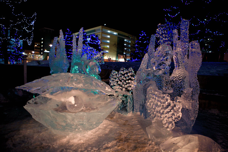 January 21, 2016. Crystal Gallery of Ice