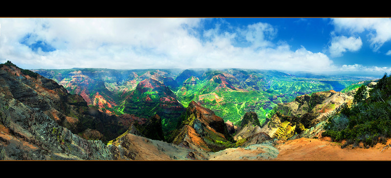 Waimea Canyon_Panorama 33x15