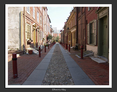 Elfreth's Alley, Philadelphia, PA