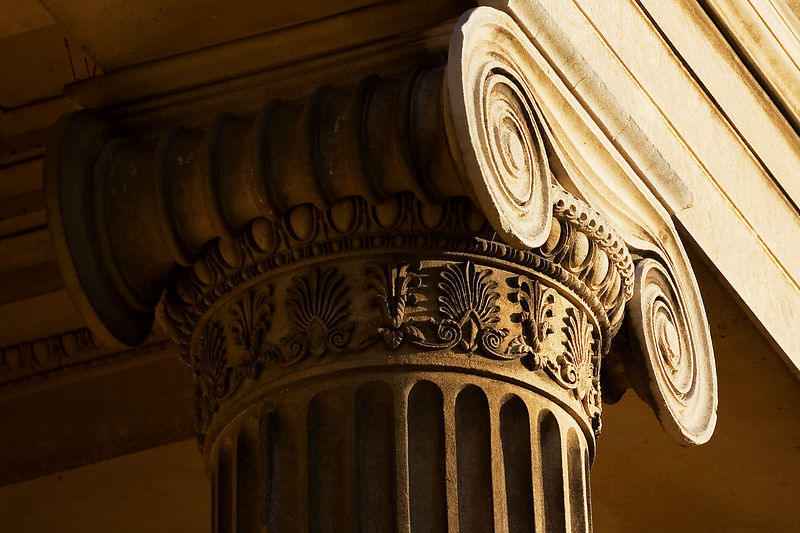 "A slightly conventional photo of a pillar from the master's lodge in Downing College. For a different perspective see: <a href=""http://polymorphix.smugmug.com/gallery/912327/1/53309005"">Here</a>"