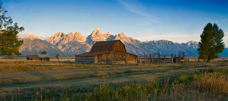 Mormon Barn with Quickmask