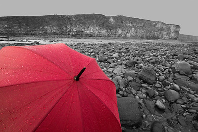 Umbrella (Llantwit Major beach)