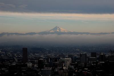 2/08/09  Portland and Mt. Hood