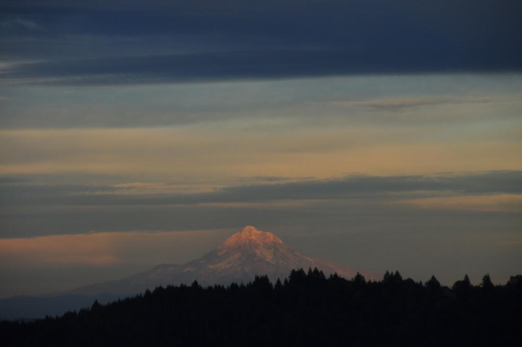 9/4/09<br /> <br /> Mt Hood at sunset