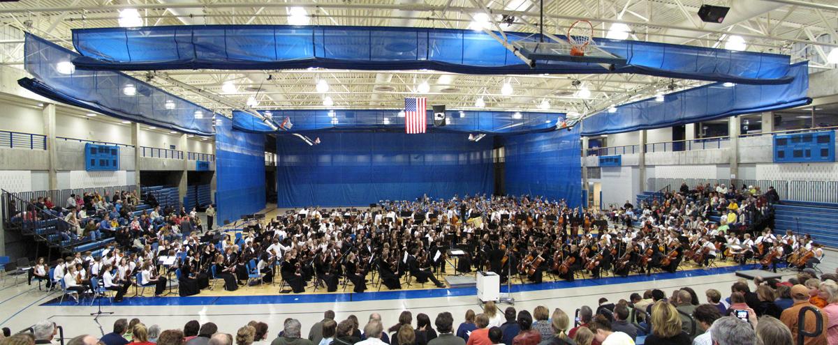 The Hopkins all school Orchestra (April 20, 2009)