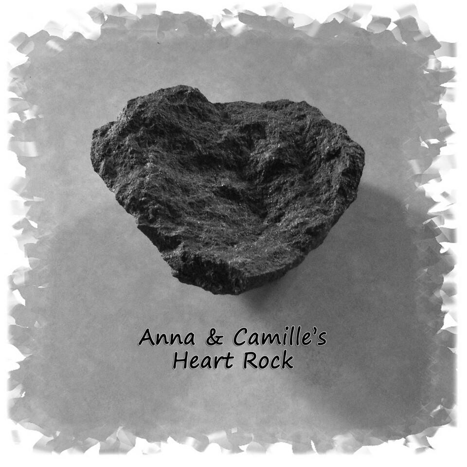 Anna & Camille's Heart Rock...