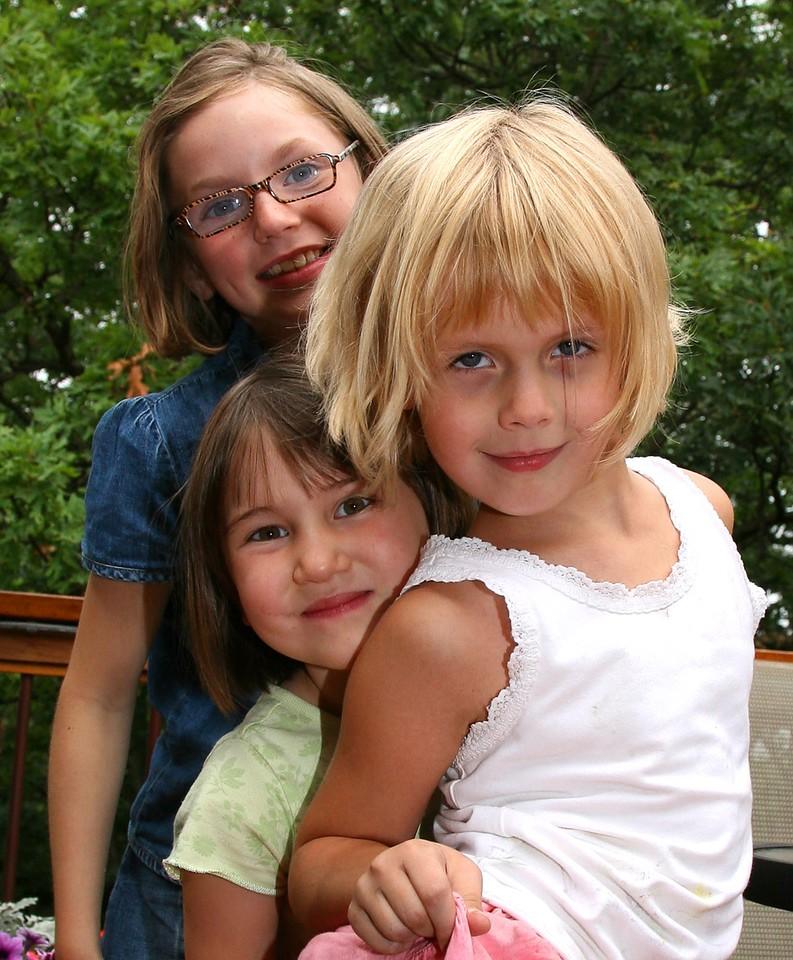 Sophie, Kaija, & Anna