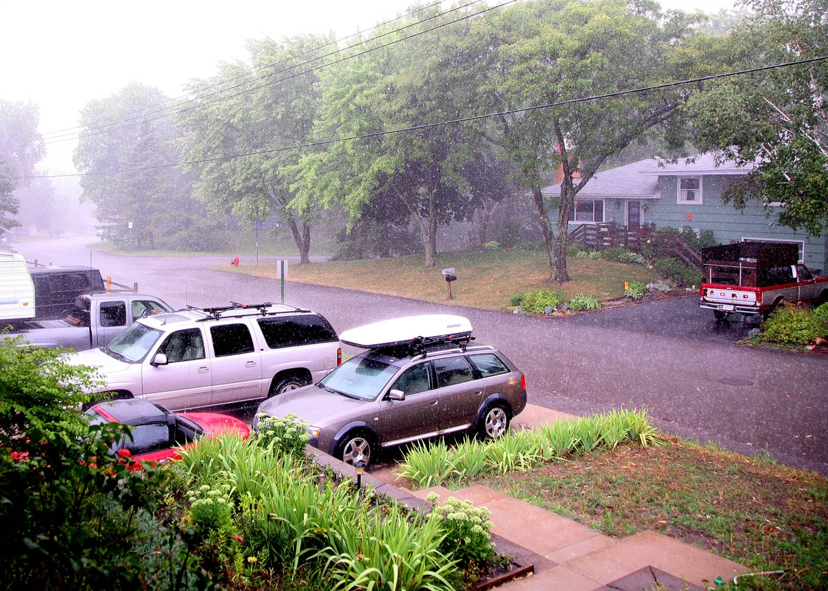 Wind, Rain, & Hail