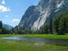 Yosemite Valley looking toward the opening.