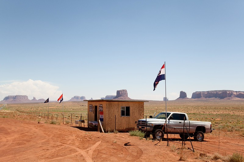 Indian Jewelry Store, Monument Valley, Utah