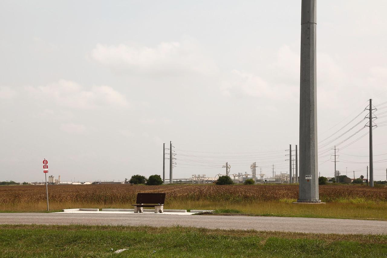 Bus Stop, Corpus Christi, Texas