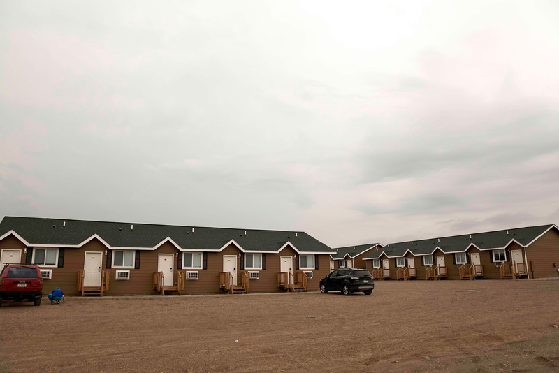 Man Camp, Williston, North Dakota