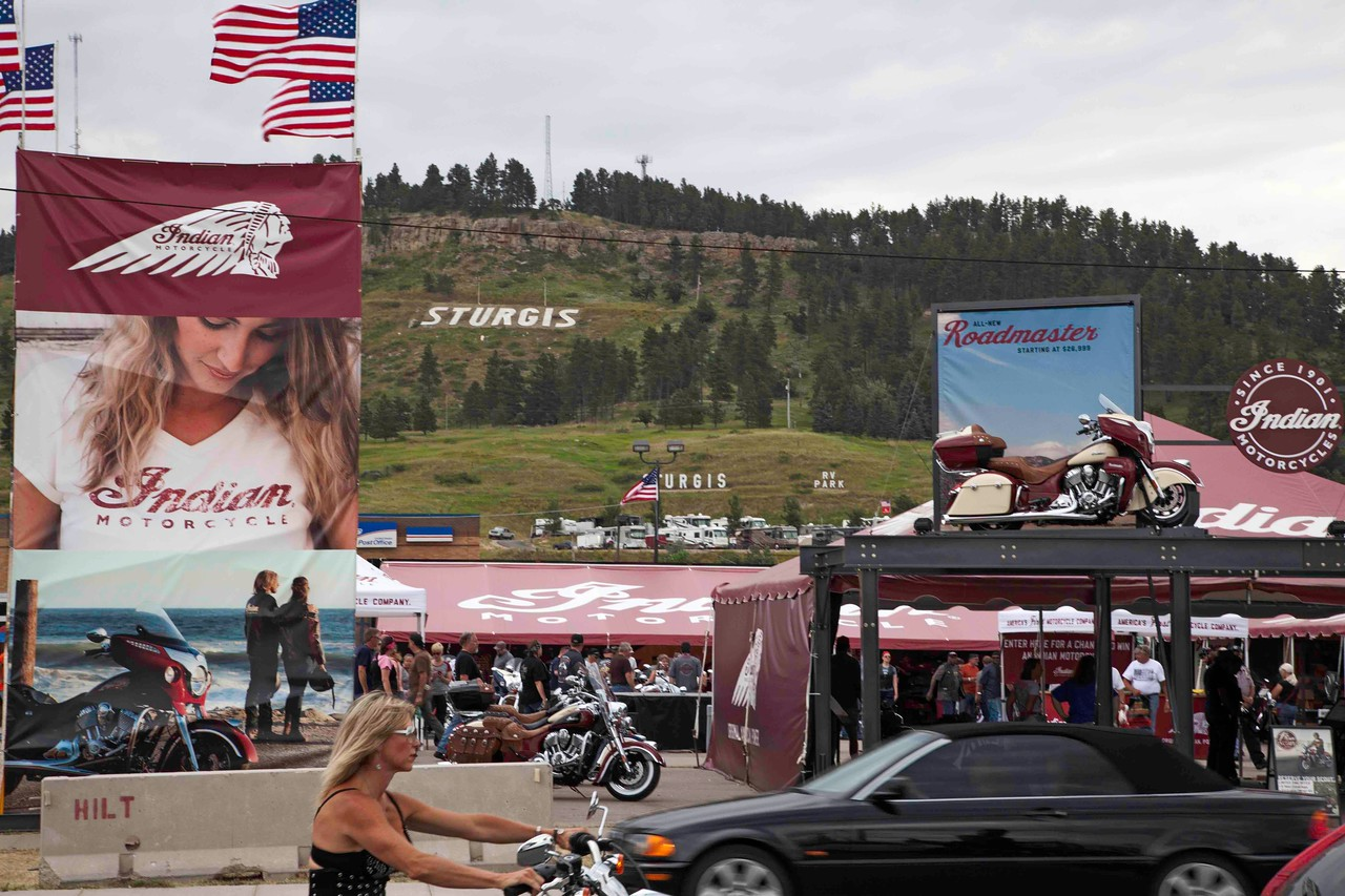 Motorcycle Rally, Sturgis, South Dakota
