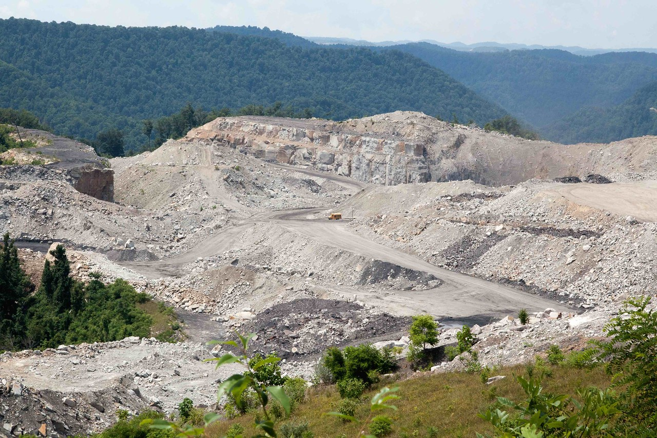 Mountaintop Removal Mine, West Virginia
