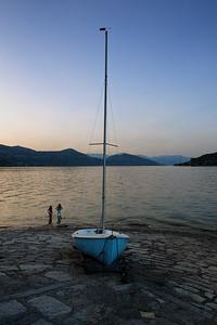 Arona, Lago Maggiore, Piedmont, Italy.