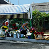 Flower vendors on many corners in Yerevan and throughout Armenia