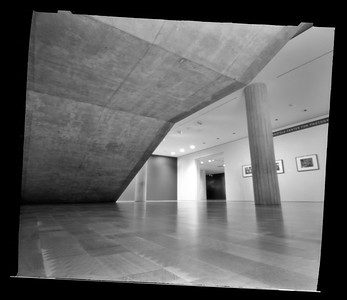 Milwaukee Art Museum, pinhole photograph