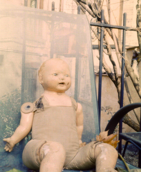 Doll, 2011.  120 format, Pentax 67 camera with pinhole lenscap.