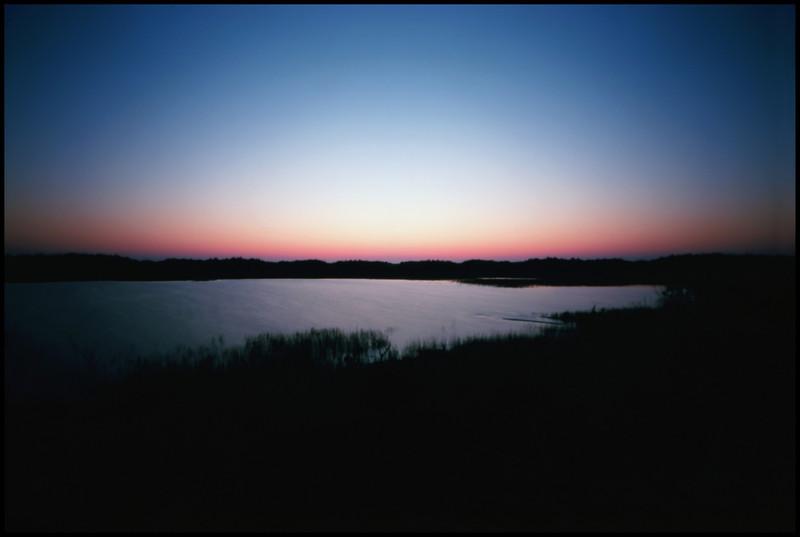 Cape Meares Lake, Oregon.