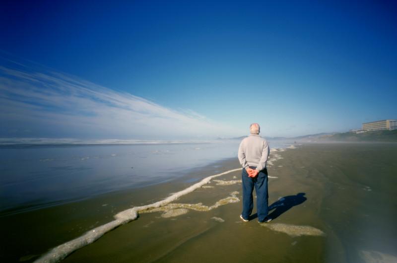 Gary (1939 - 2012), Newport, Oregon.