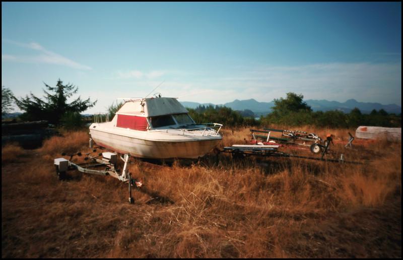 On Tillamook Bay, just north of Garibaldi, Oregon.