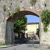 Roman Wall in Pisa Italy