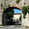 Roman Wall in Pisa Italy 2
