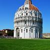Baptistry Built in 1153 in Pisa Italy