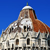Dome of Baptistry in Pisa Italy