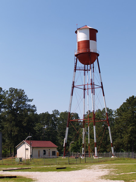 Water Tower at VAMC Alexandria, Louisiana, Oly E330, ZD14-45