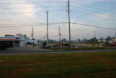 On January 4th, 2005 Meraux Food Stores and Sporting Goods started Refitting their Underground Storage Tanks and supporting equipment to bring it up to current standards as outlined by Louisiana UST Standards. Most work was completed by February 4th which is when the last photo was taken. Photography By Lloyd R. Kenney III (C) 2005 All Rights Reserved.