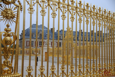 The Sun King's fence, Palace of Versailles