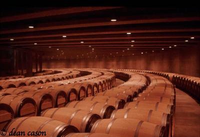 Opus One Barrel Room, Napa Valley, CA