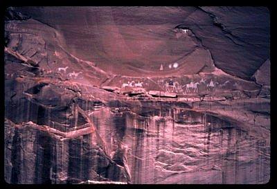 Canyon de Chelly Petroglyphs