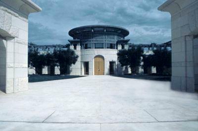 Opus One entrance