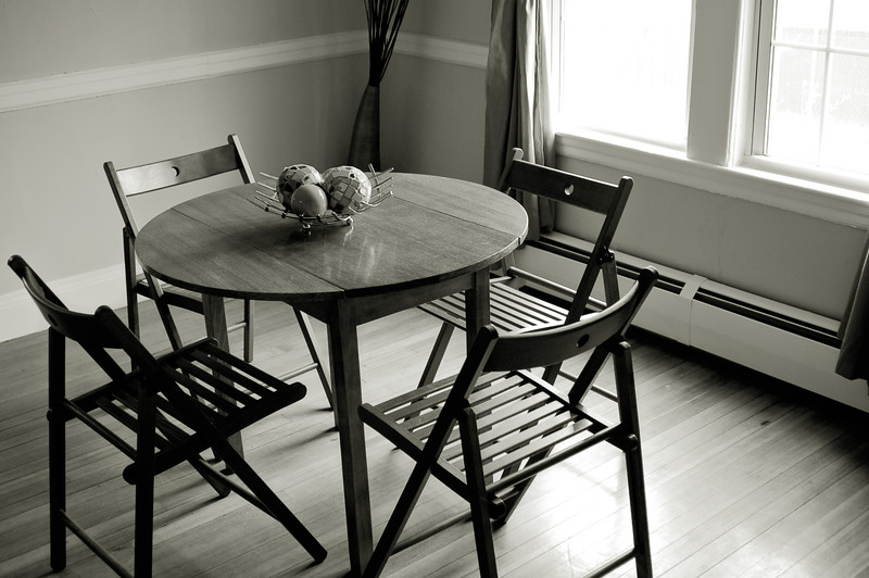 Kathryn's Table, BW Conversion.