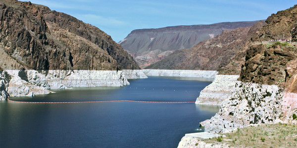 Looking Out From Hover Dam