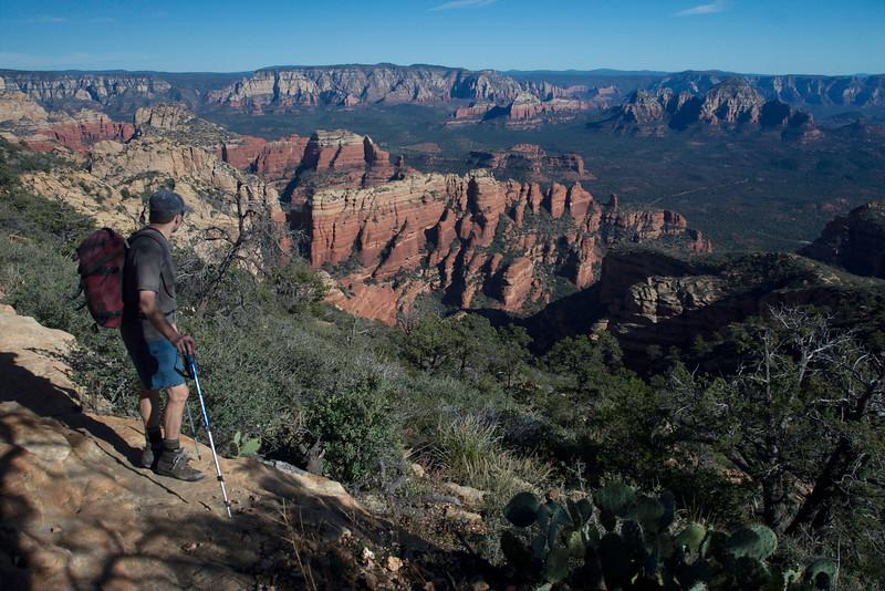 Into Fay Canyon