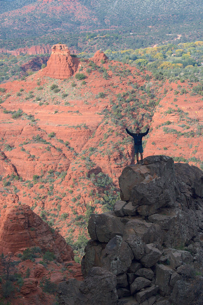 From Cathedral Rock Saddle - Neil ON THE Vortex