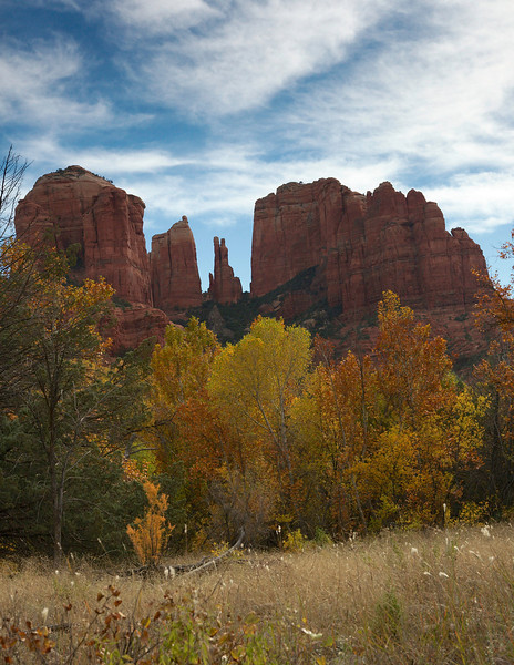 Cathedral Rock  from Red Rock Crossing
