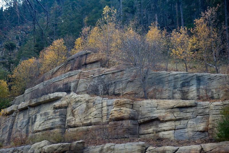 Oak Creek Canyon walls