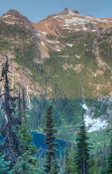 Daniel Sunrise - Deep lake below