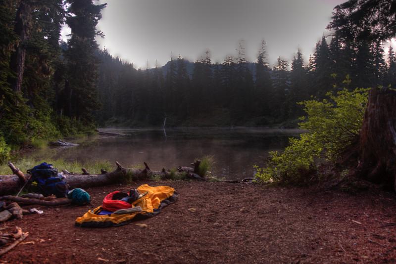 Final Camp at Hope Lake