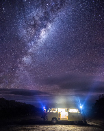 A Night Under the Stars - Wellington Peninsula - NSW, Australia