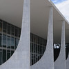 Brazilian Supreme Court designed by Oscar Niemeyer in Brasilia