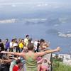 The crowd at Cristo Redentor - Corcovado - Rio de Janeiro