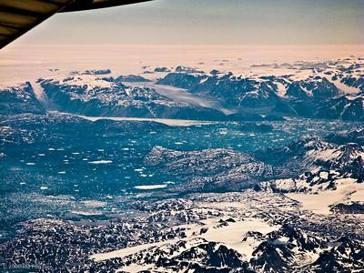 Distant glaciers