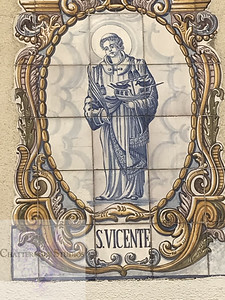 Tile of St. Vincent