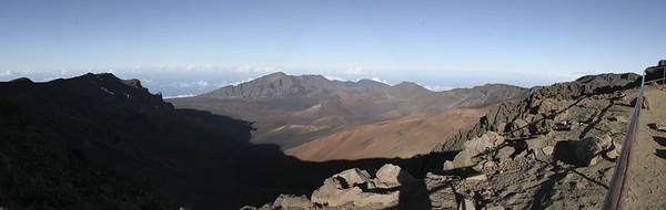 Haleakala Crater Panorama